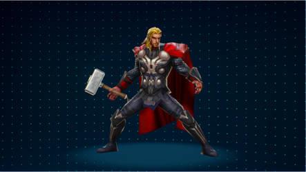 [MVCI Mod] MFF Movie Thor (C1) by SBandKLKFan3435