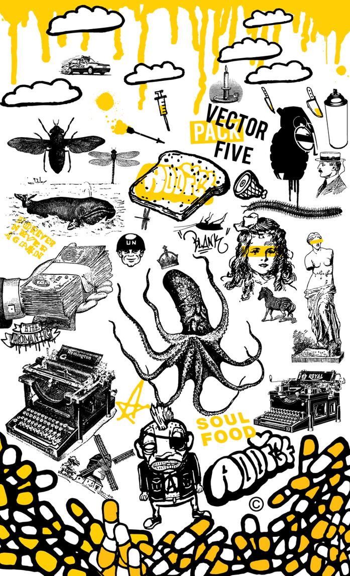 Vector Pack: Five by Jonny-Doomsday