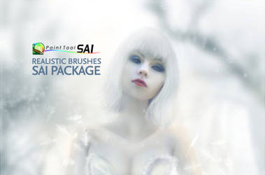Realistic Brushes Paint Tool SAI Pack
