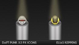 Daft Punk 32Px Icons by elajes