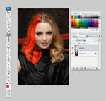 Hair Color Painting