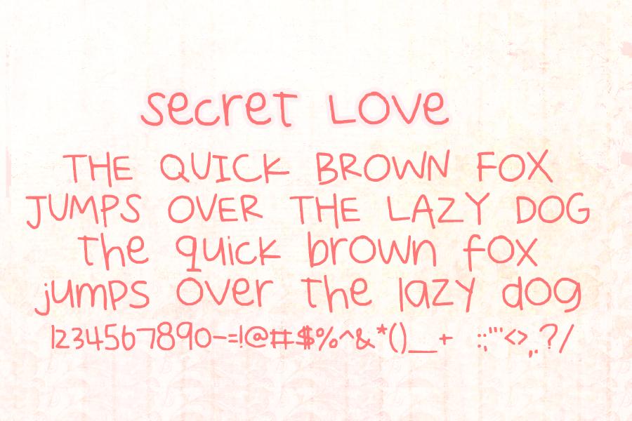 Secret Love by sunshowerdroplets