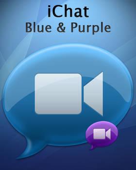iChat Blue and Purple