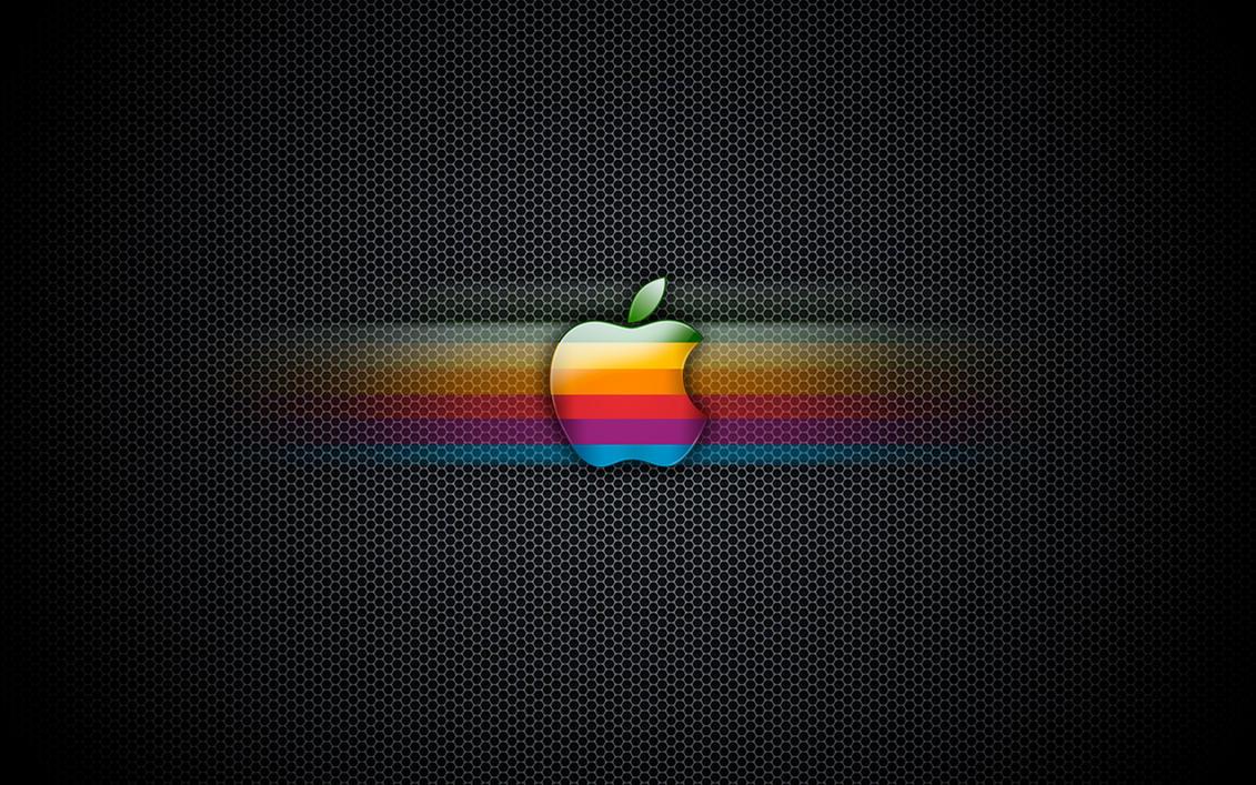 exagon rainbow apple wallpaperenricoagostoni on deviantart