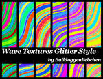 Wave Texture Glitter Style Pack