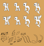 Mlp Lineart Males by theliondemon-kaimra
