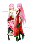 [MMD] TDA Flower and Fruit Luka [DL]