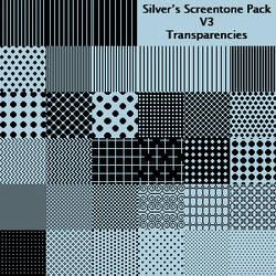 Silver's Screentone Pack V3