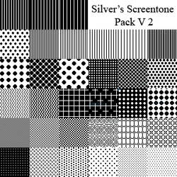 Silver's Screentone Pack V2