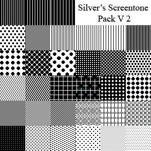 باترنز، باترن للفوتوشوب وللتصاميم ، مكتبة كاملة بروابط مباشرة !! Silver__s_Screentone_Pack_V2_by_silverwinglie