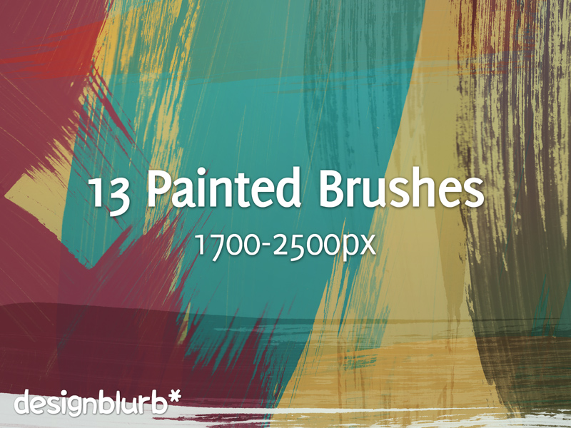 Painted Strokes Brushes - CS3