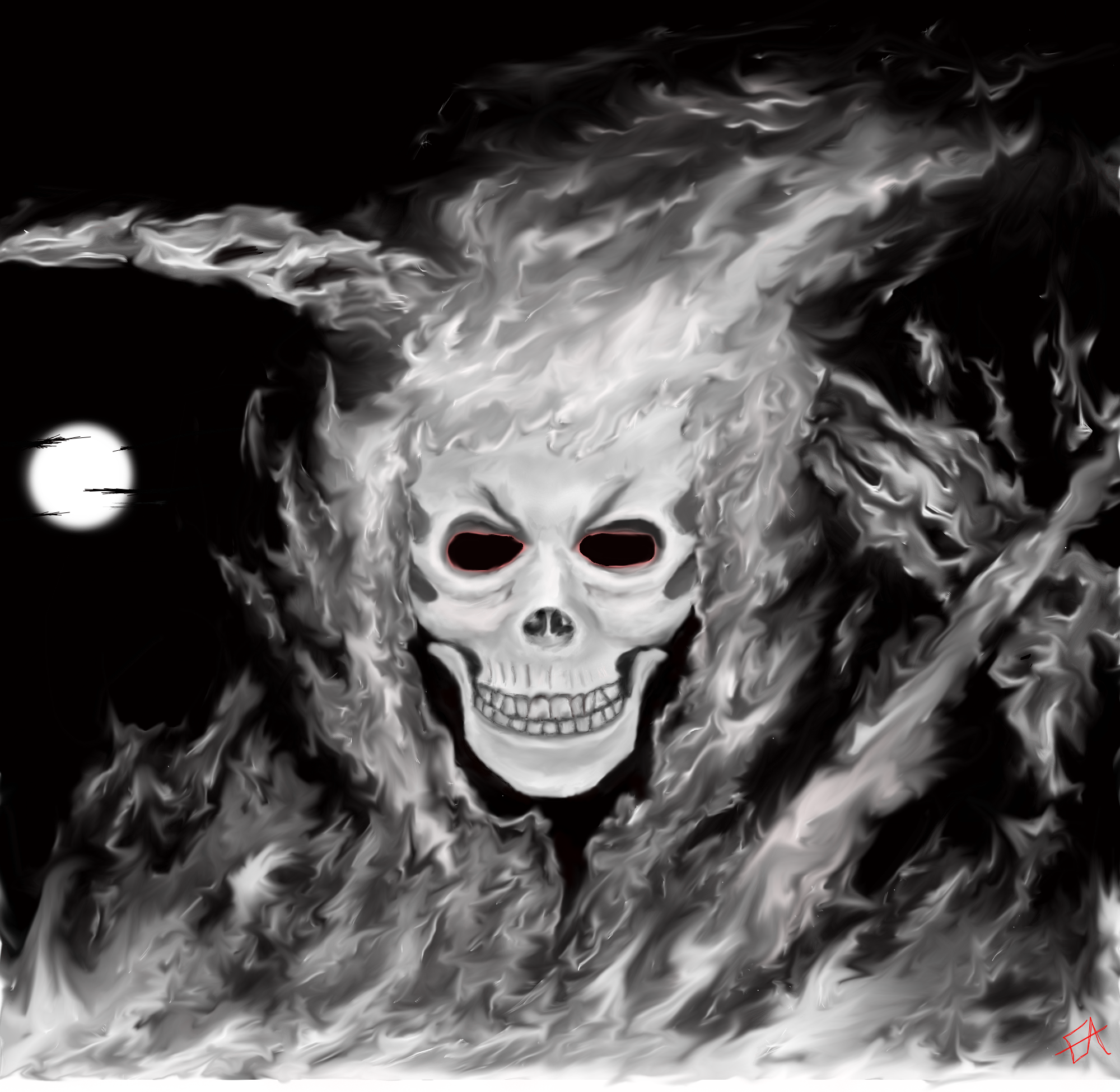 Fire Reaper by eddieblz