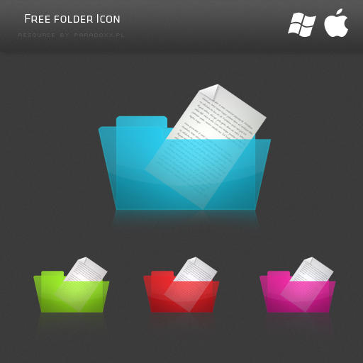 Free Folder Icon by prdx-design