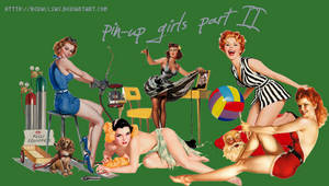 Pin-up girls PNGs II by revallsay