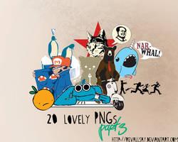 20 lovely pngs III