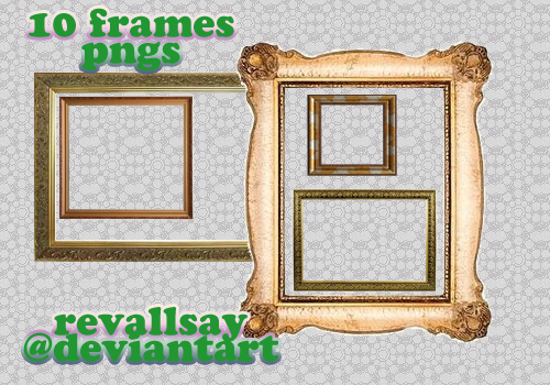 10 frames PNGs by revallsay