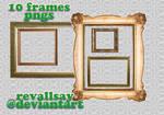 10 frames PNGs