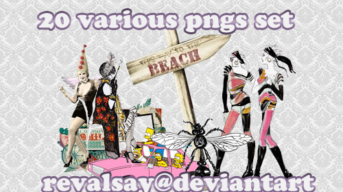 20 various pngs set by revallsay