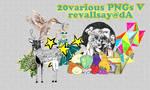 20 various pngs V