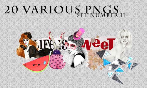 20 various pngs XI by revallsay