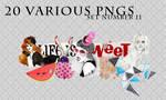 20 various pngs XI