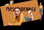 PNG Pack 02 - Mrs. Orange