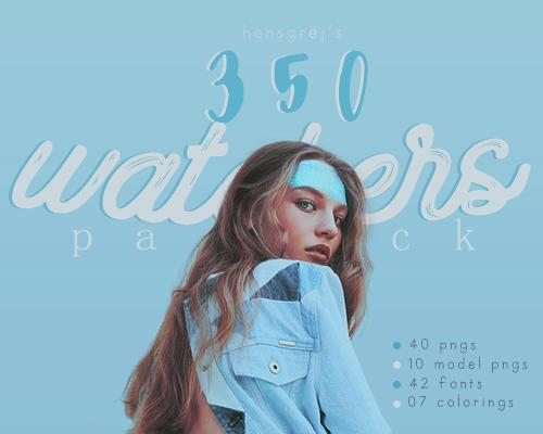 Hensgrej's 350 Watchers Pack by ohnoesflorence