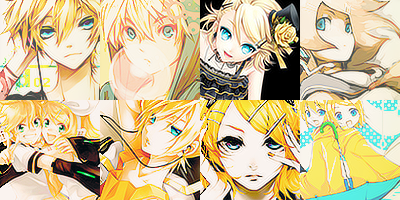 78 Kagamine Twins Icons by ToxxicLovve