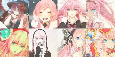 124 Luka Megurine Icons by ToxxicLovve