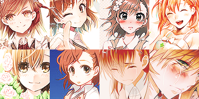 50 Misaka Mikoto Icons by ToxxicLovve
