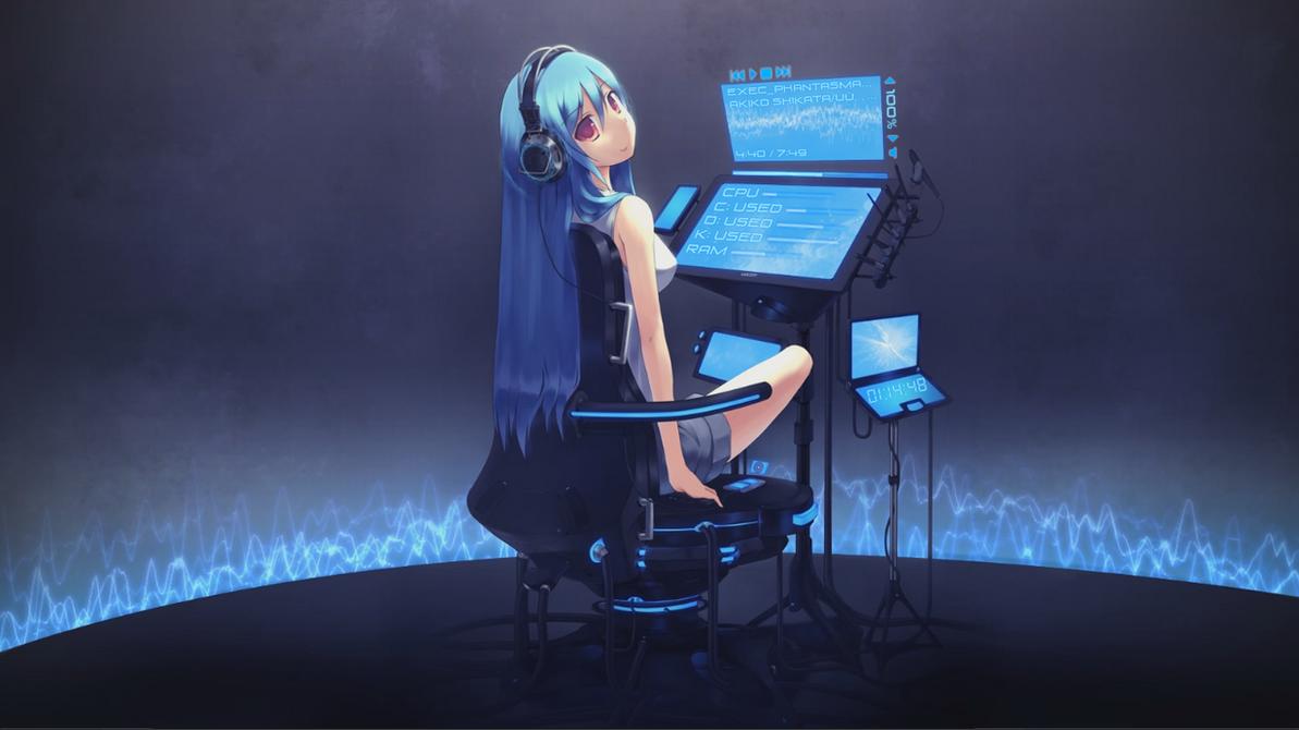 Miku Dreamscene by Fujiwara92