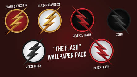 The Flash CW Wallpaper Pack