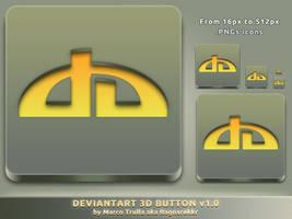 deviantArt 3D Button v1.0 by Ragnarokkr79