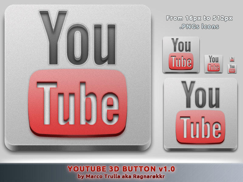 YouTube 3D Button v1.0 by Ragnarokkr79
