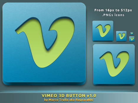 Vimeo 3D Button v1.0