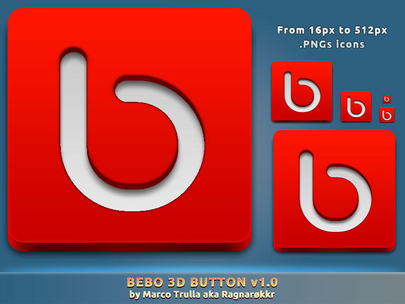 Bebo 3D Button v1.0 by Ragnarokkr79