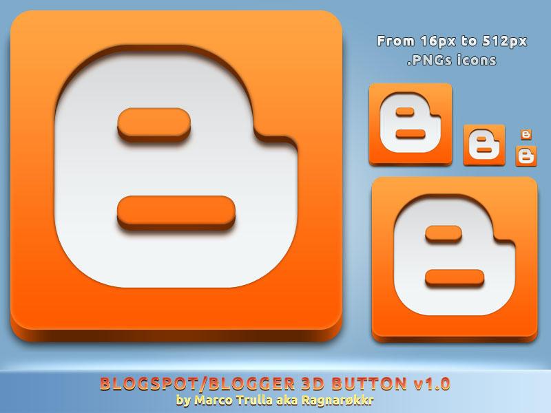 Blogspot 3D Button v1.0 by Ragnarokkr79