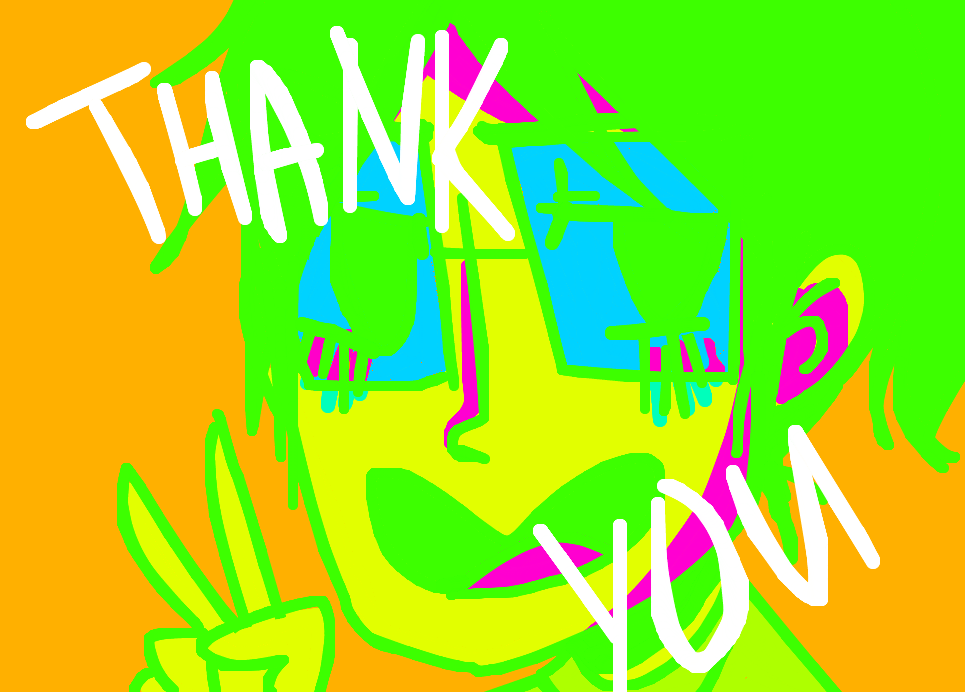 THANK YOU! :D by poisodon