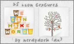 25 Misc Textures by Nerdydork