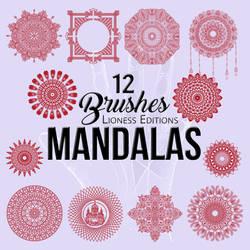 Mandala  Brushes 12 by LionessEdits