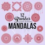 Mandala  Brushes 12