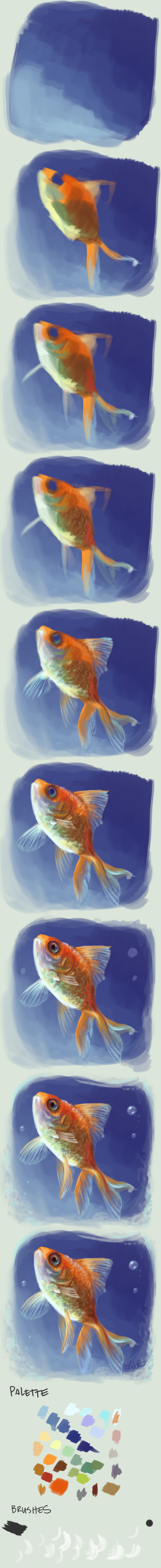 Daily Doodle Demo: Fishy