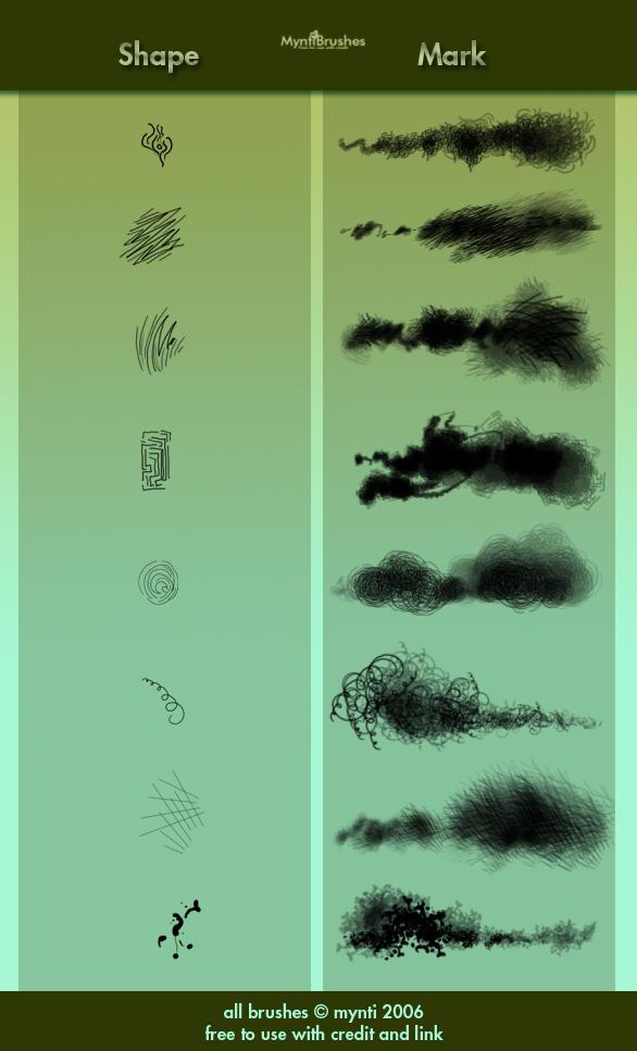 MyntiBrushes Vol 3 - Doodles by mynti