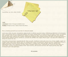 CSS 007 - Notebook by mynti