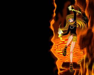 TT :: Terra from Teen Titans by AkiruNyang
