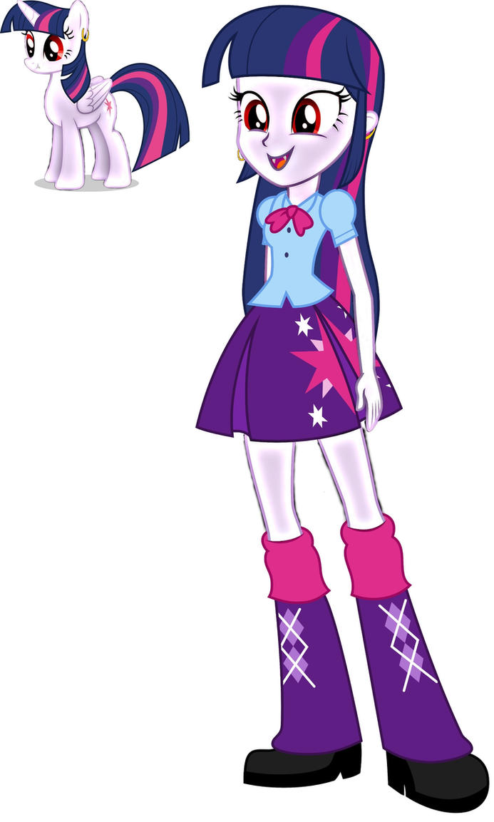 Vampire Sister Twilight Sparkle by Famguy3 on DeviantArt
