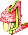 1 Cupcake design