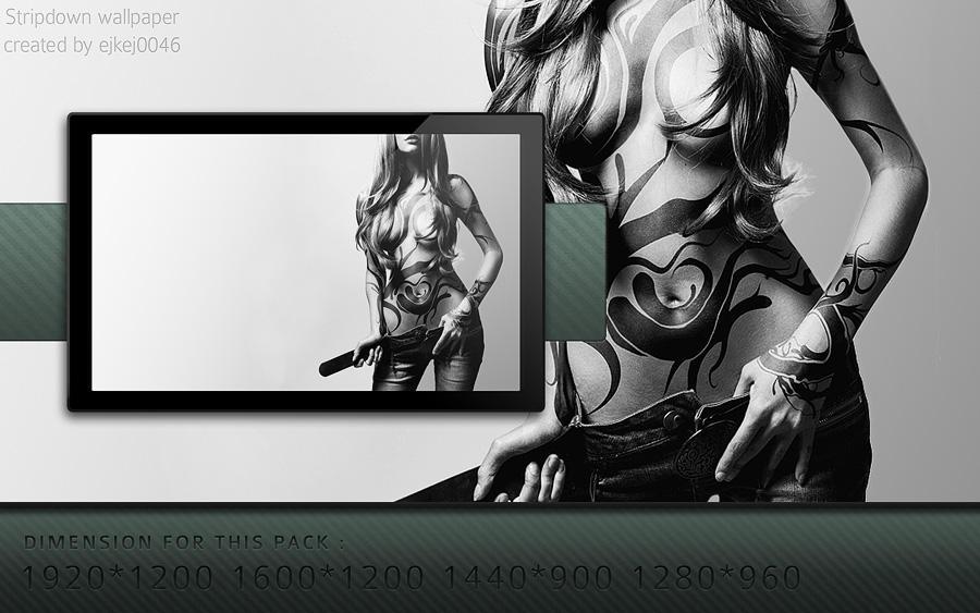Stripdown wallpaper by ejkej0046