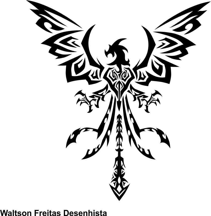 Fenix metal by waltsonfreitas on deviantart for Fenix tribal tattoo