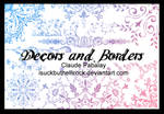 decors and borders brushes
